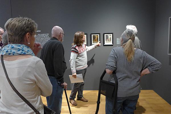"""Ausstellungsbesuch """"Licht und Leinwand"""", Kunsthalle Karlsruhe (15.05.19)"""