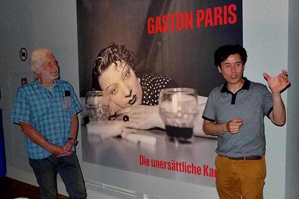 """Ausstellungsbesuch Gaston Paris """"Die unersättliche Kamera"""", zu Gast in Mannheim (19.06.19)"""